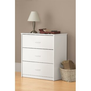 Ebern Designs Ensminger 3 Drawer Chest