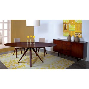 Drake Oval Dining Table by Corrigan Studio