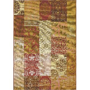 Jamie Gold Indoor/Outdoor Area Rug