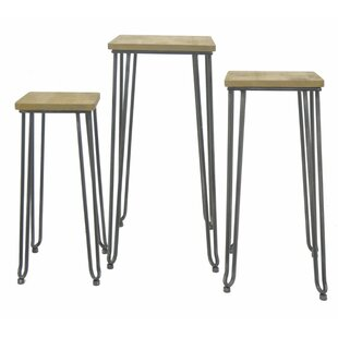 3 Piece Nesting Tables by Three Hands