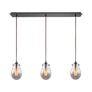 03d1b33eacd Sarita 3-Light Oil Rubbed Bronze Kitchen Island Pendant