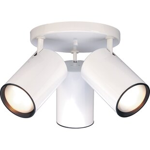 Chabot 3-Light Semi Flush Mount by Ebern Designs