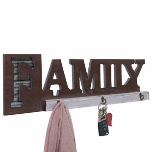Jorgensen Wall Mounted Coat Rack By Brambly Cottage