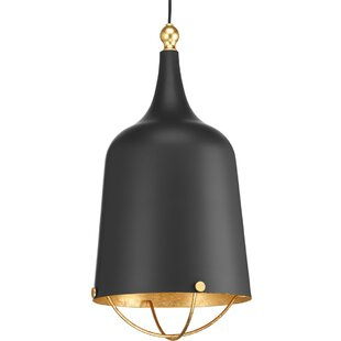 Robbs 1-Light Bell Pendant by Wrought Studio