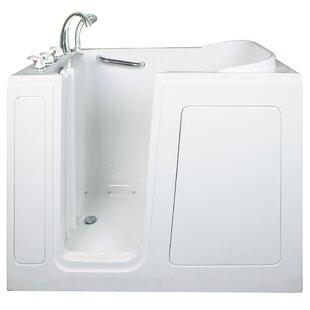 Ella Walk In Baths Short Long Air and Hydro Massage Whirlpool Walk-In Tub