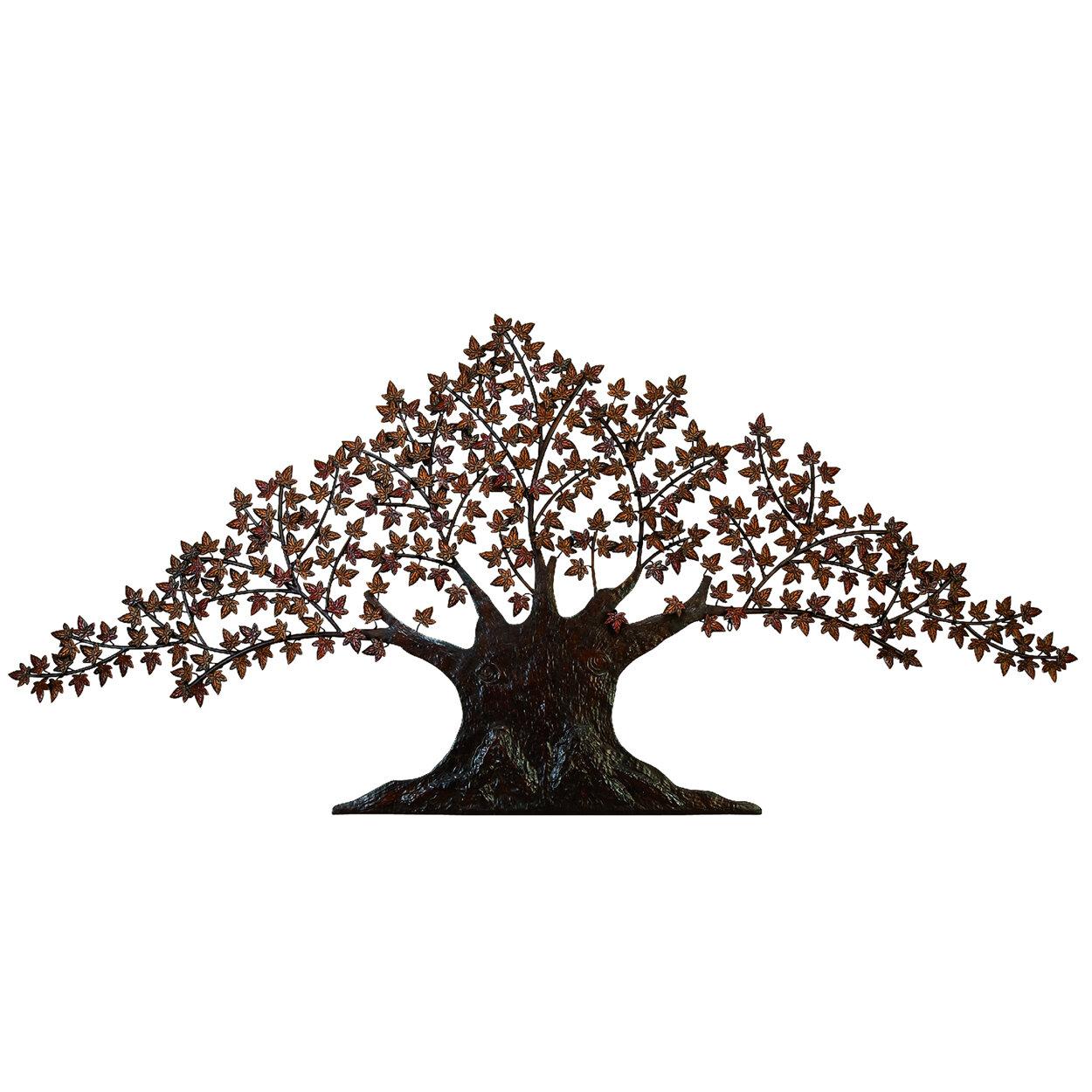Unique Art Wedding gift Five year anniversary Tree of Life Metal sculpture .Best seller.Live edge Wall Hanging Weld art.