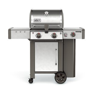 Genesis II LX S-240 2-Burner Propane Gas Grill with Side Burner by Weber