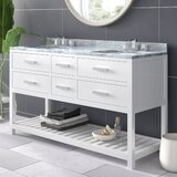 Perego 60 Double Bathroom Vanity Set by AllModern