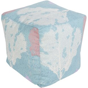 Marquis Habor Pouf by Rosecliff Heights