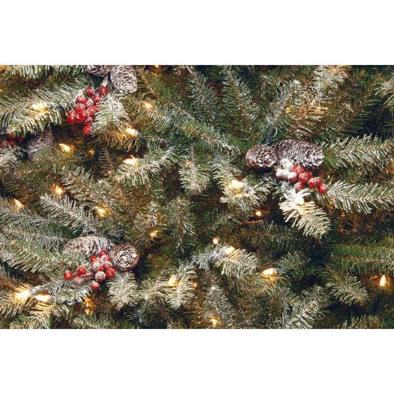 Dunhill Fir Christmas Tree.Dunhill Fir Slim 4 5 Hinged Artificial Christmas Tree With 350 Clear Lights