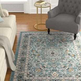 Price Check Duanesburg Blue Area Rug ByAlcott Hill