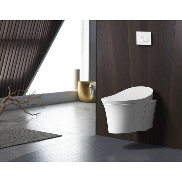 Wall Hanging Toilet kohler veil® intelligent wall-hung toilet | wayfair