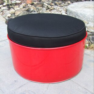 Drum Works Furniture Loft Ottoman with Cu..