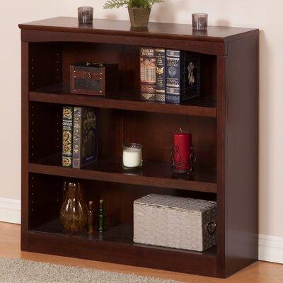 Amias Standard Bookcase Bookcase Finish: Antique Walnut