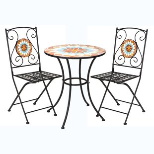 Mosaic 3 Piece Bistro Set by Winsome House
