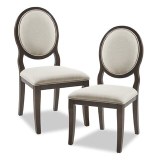 Astoria Upholstered Dining Chair (Set of 2) by Madison Park Signature