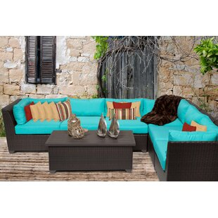 Find Medley 7 Piece Sectional Seating Group with Cushions Great Price