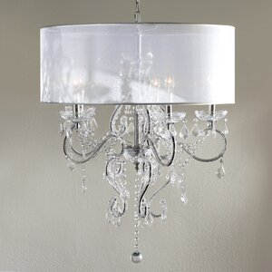 Rosalie 5-Light Crystal Chandelier