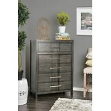Bartlum 5 Drawer Chest by Latitude Run®