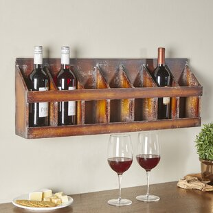Sonoma 7 Bottle Wall Mounted Wine Rack by..