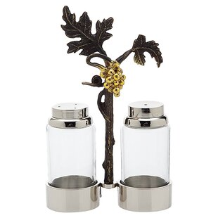 3-Piece Vigna Salt & Pepper Shaker Set