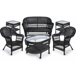 Gracie Oaks Xavier 6 Piece Sofa Seating Group