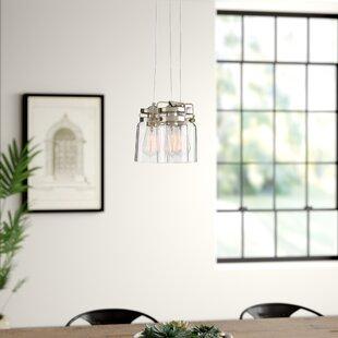 Sue 3-Light Cluster Pendant by Kichler