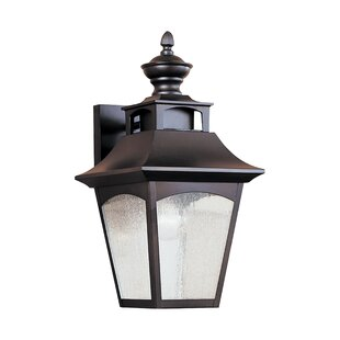 Best Reviews Clairsville 1-Light Outdoor Wall Lantern By Darby Home Co