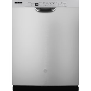 24 50 dBA Built-In Dishwasher with Front Controls by GE Appliances