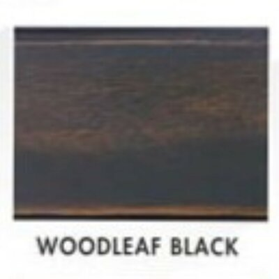 3 Piece Conversation Set Finish: Woodleaf Black by Dixie Seating