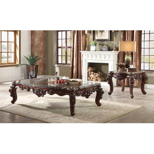Astoria Grand Keagan 2 Piece Coffee Table Set