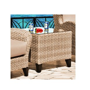Steiger Wicker Side Table