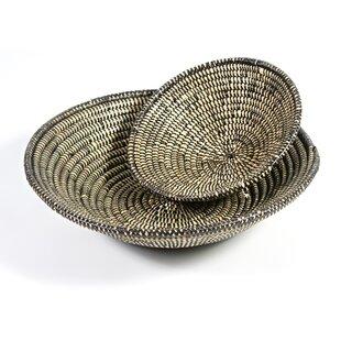 Fairlaine Grass Basket By Bay Isle Home