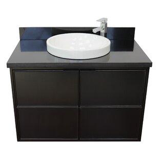 Elford 37 Wall-Mounted Single Bathroom Vanity Set by Gracie Oaks