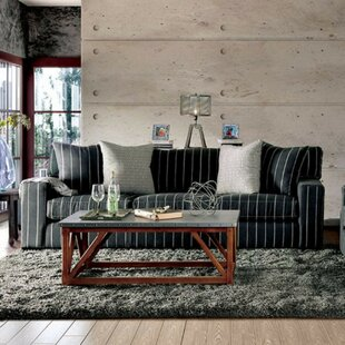 Shaunda Pinstripe Sofa by 17 Stories