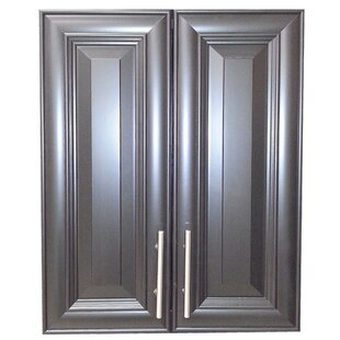 Overton 21 W x 27 H Recessed Cabinet by WG Wood Products