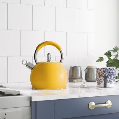 3 L Wasserkessel Huntley aus Edelstahl mit Pfeifenfunktion | Küche und Esszimmer > Küchengeräte | ScanMod Design