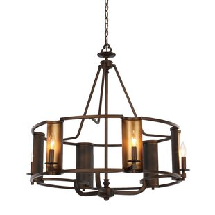 Loon Peak Rodrigue 6-Light Drum Chandelier