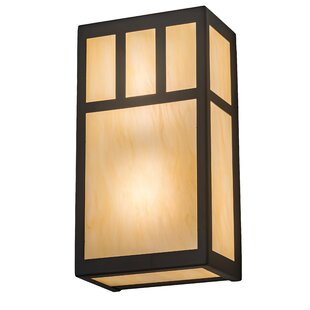 Online Reviews Almont 2-Light Outdoor Flush Mount By Bloomsbury Market