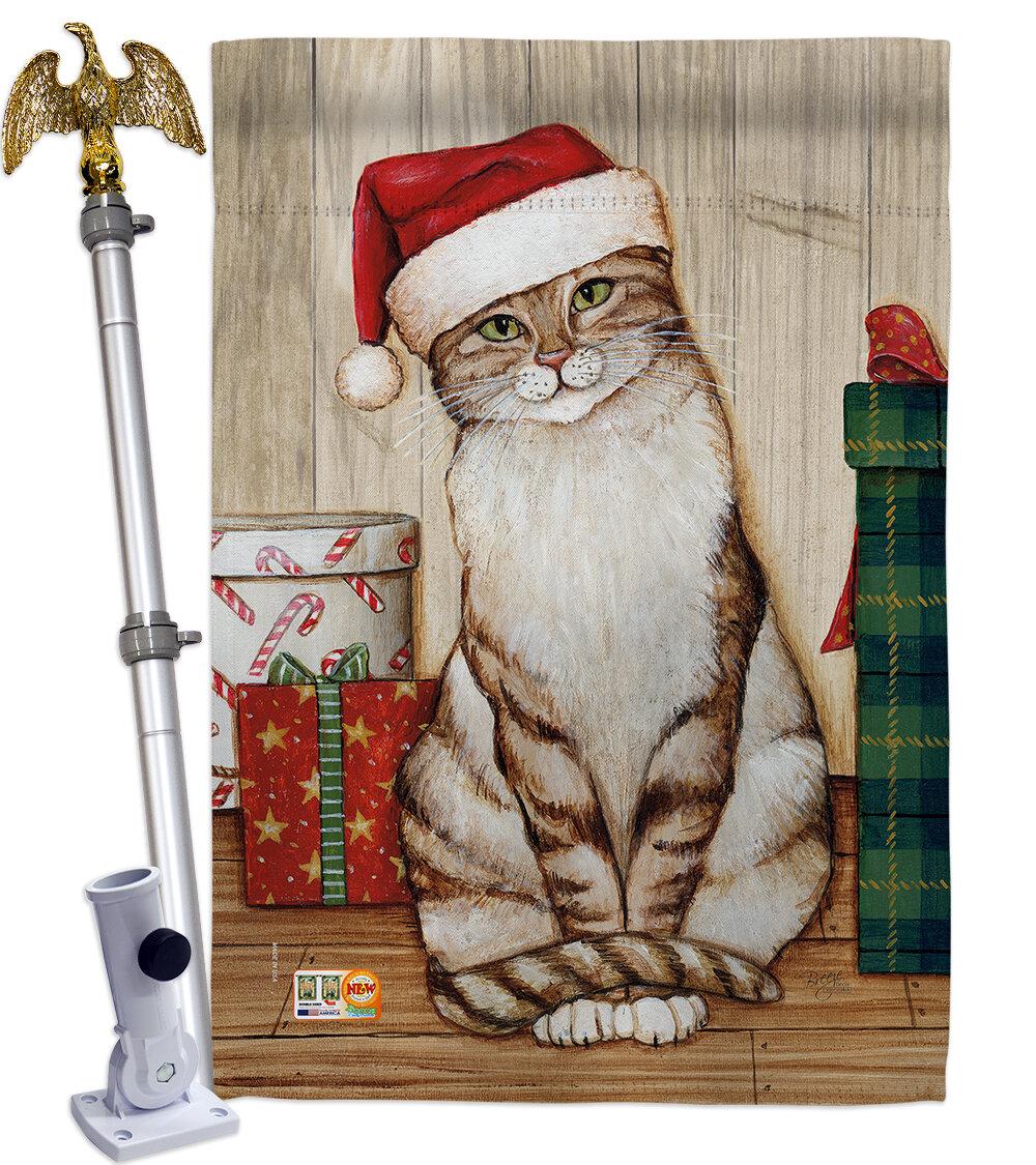 Cat Christmas Flags You Ll Love In 2021 Wayfair
