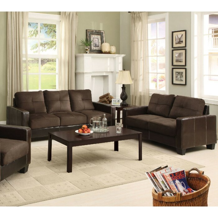 Parma 2 Piece Living Room Set