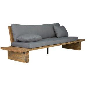 Gepolsterte Sitzbank Elima aus Holz von Massivum