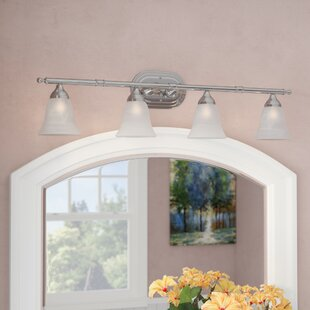 Compare prices Timpkins 4-Light Vanity Light By Alcott Hill