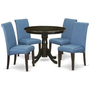Cambridge 5 Piece Solid Wood Breakfast Nook Dining Set