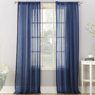 Blue Sheer Curtains Drapes Youll Love