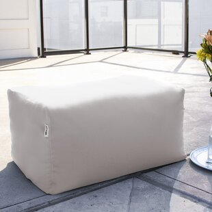 Maarten Outdoor Bean Bag Ottoman by Turn on the Brights