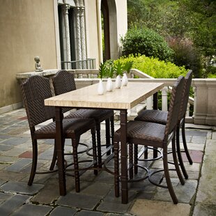 Peak Season Inc. San Marco Counter Height 5 Piece Dining Set