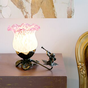 Shopping for Crofoot Cherub Flower Tulip Lily 6 Torchiere Lamp By Fleur De Lis Living