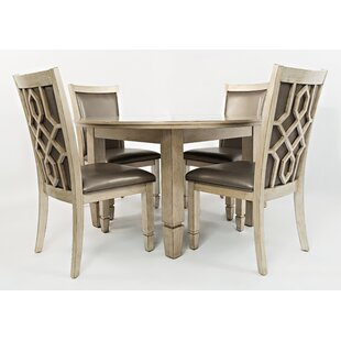Hannah 5 Piece Dining Set by House of Hampton Looking for