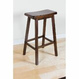 Amuel Solid Wood 24 Counter Stool (Set of 2) by Red Barrel Studio®